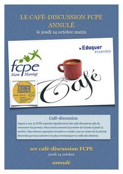 Café discussions