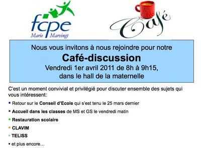 Café discussion