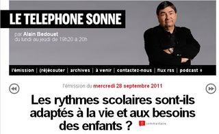 Le téléphone sonne - 28-09-2011