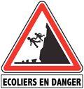 Écoliers en danger
