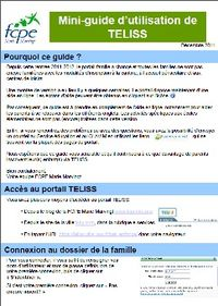 Guide teliss
