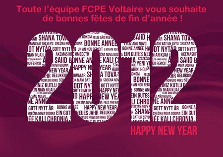 Bonne année 2012 FCPE