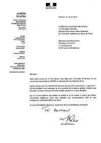 RASED, lettre Rosselet