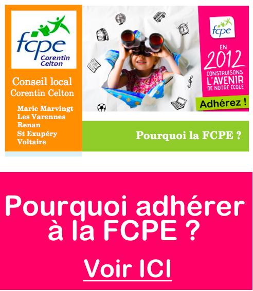 Adhésion FCPE 2012