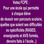 Ecole Refondation FCPE