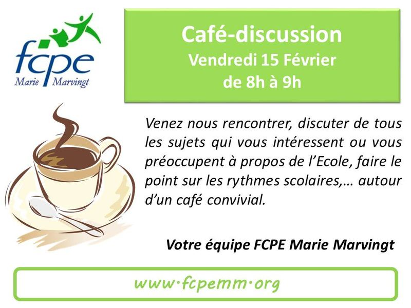 Café discussion 15Fév
