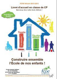Livret d'accueil Voltaire_CP _2013-14
