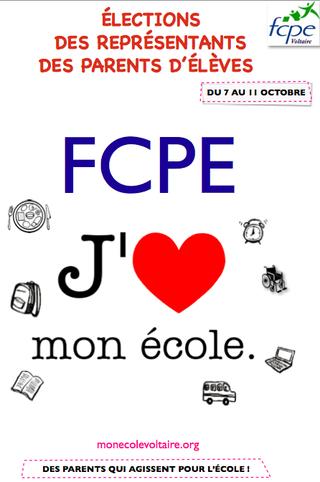 profession de foi FCPE Voltaire
