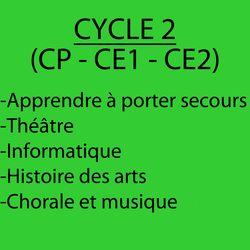 Décloisonnement cycle 2