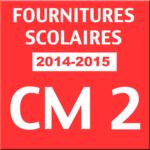 Liste fourniture 2012 CM2