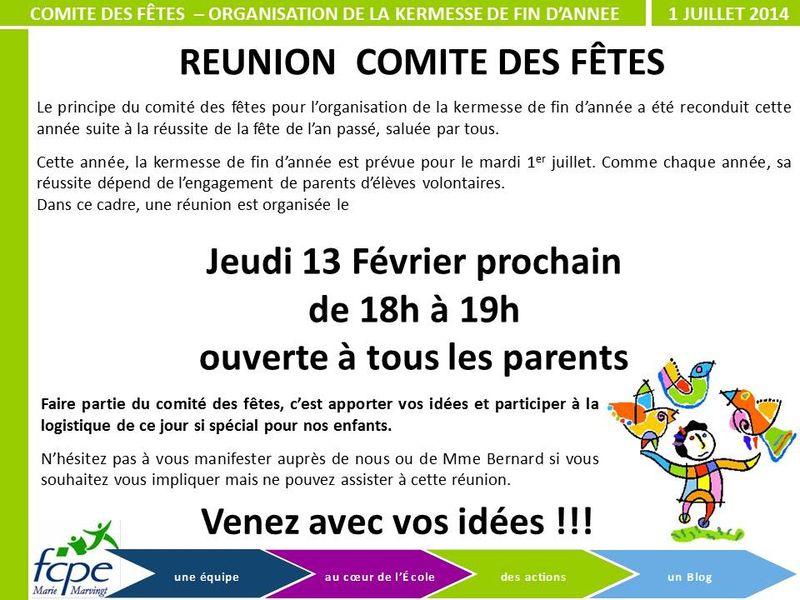 20130213 - Comité des fêtes