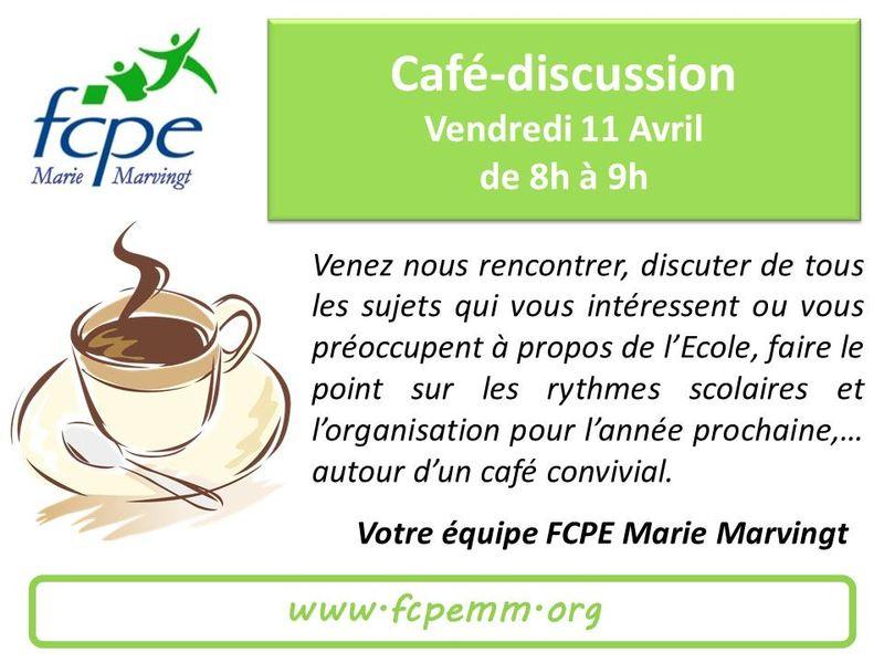 Café discussion 11Avr