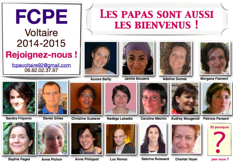 Equipe Voltaire 2015