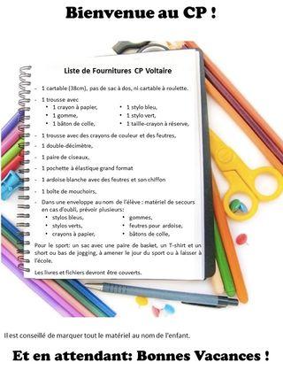Liste fournitures 2015 Voltaire blog