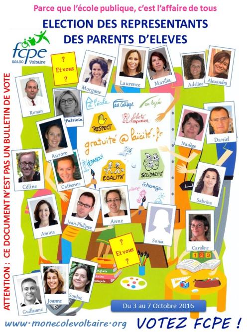Profession de foi FCPE Voltaire 2016 vF