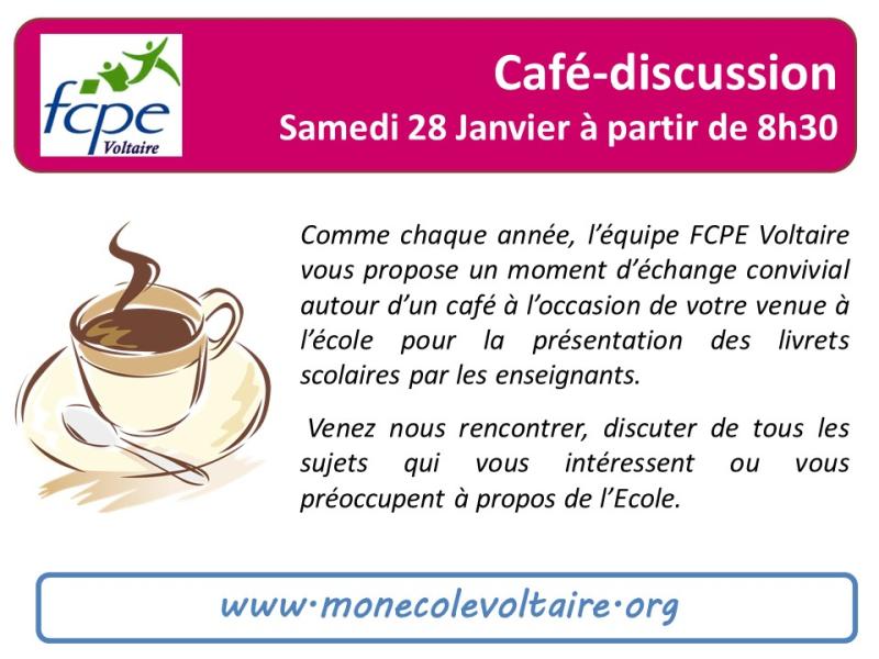 Café discussion 28Jan17
