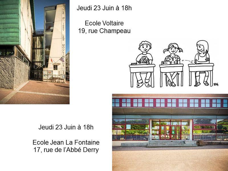 Réunions information CP 2016