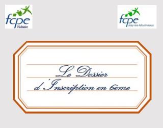Dossier d'inscription