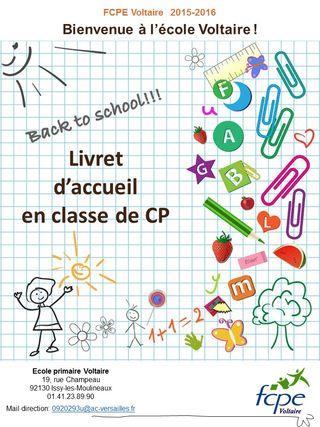 Livret Voltaire CP 2015-2016