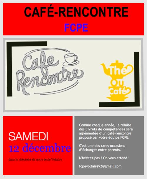 café rencontre FCPE