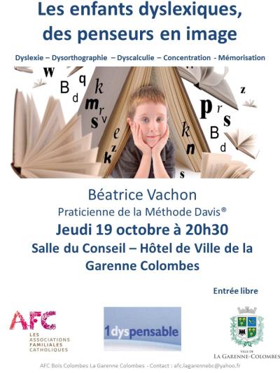Flyer Conférence AFC dyslexie last