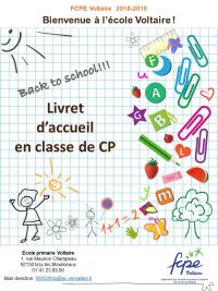 Livret Voltaire CP 2018-2019