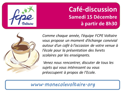 Café discussion 15Dec18