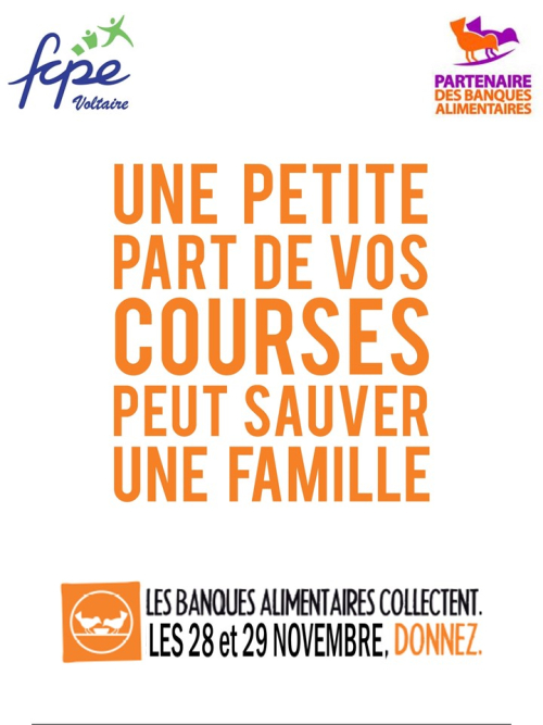 Flyer banque alimentaire 2019 - 2