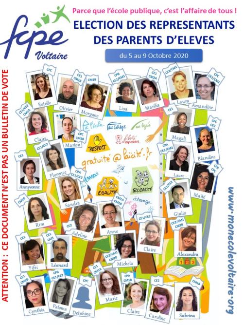 Profession de foi FCPE Voltaire 2020 v0