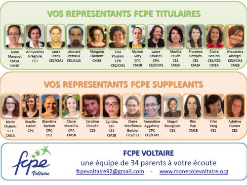 Représentants 2020-2021